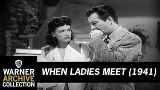 When Ladies Meet (1933) - Official Trailer