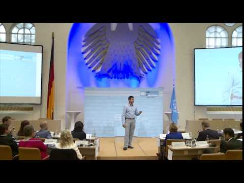 Blue Room Talks, highlights of eight UN Volunteers, UNV Partnerships Forum, Bonn, 2014