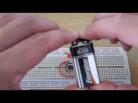555 Timer Circuits - Flashing LED