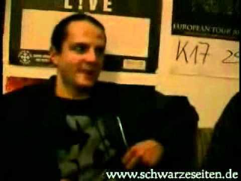 Erblast und Artwork Interview Berlin 2002 Schwarze Seiten by a member of Rozencrantz