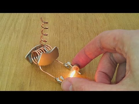 free energy device tested on light bulb thumbnail
