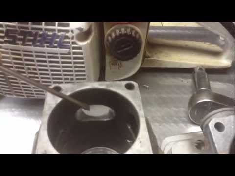 2 Stroke Engine Cylinder Mod and Porting Stihl 066 Chainsaw