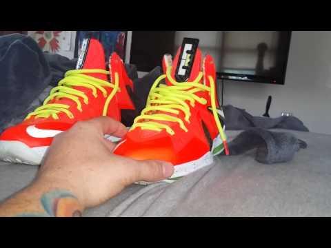 Lebron X elite Crimson Review