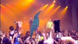 Bad Bunny Canta Nueva Cancion en Concierto Vivo @ Atlanta Coliseum 2017 (Sings unreleased song)