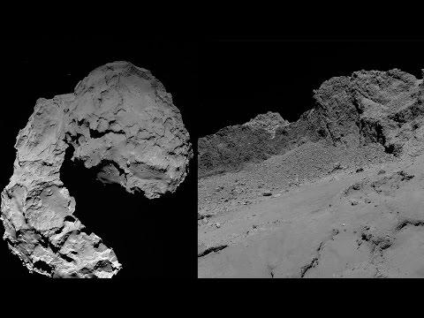 Rosetta's last images from Comet 67P/Churyumov–Gerasimenko