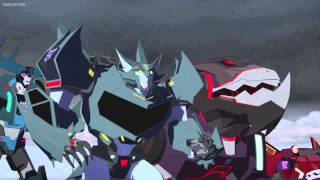 Transformers Robots In Disguise Steeljaw vs Megatronus