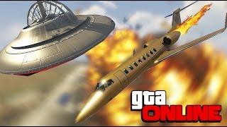 GTA 5 Online (PC) - ЧИТЕРСКИЙ САМОЛЁТ!