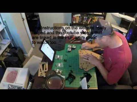 Geeetech Delta Rostock Build Video (timelapse)