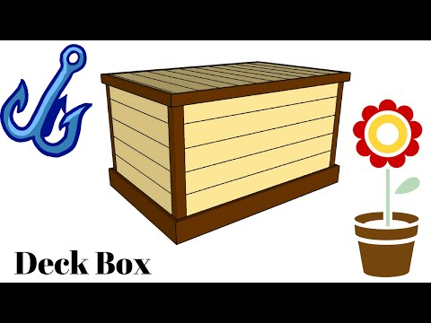 Storage Box Plans - YouTube