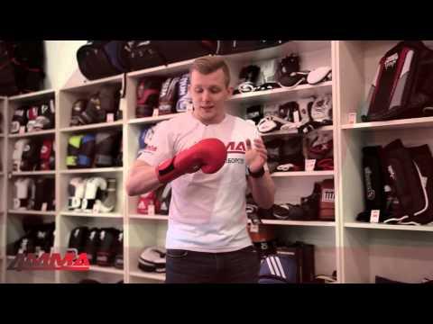 Фото:Перчатки Adidas AIBA Red