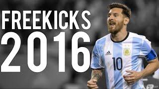 Lionel Messi ● ALL 8 FREEKICKS ● 2016