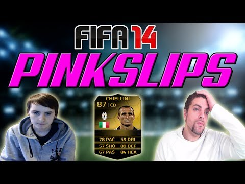TOTW INFORM PINK SLIPS WAGER   IF Giorgio Chiellini   FIFA 14 Ultimate Team (FUT 14)