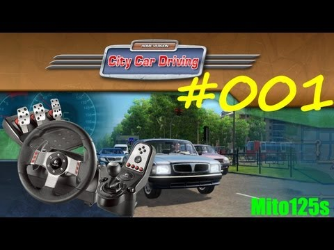 City Car Driving + Logitech G27 #001 Review - Live