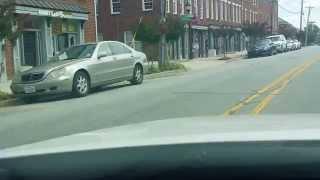 Driving around Greensboro North Carolina