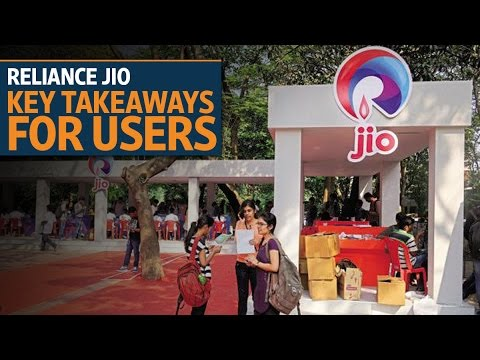 Reliance Jio launch: Key takeaways for users | Video