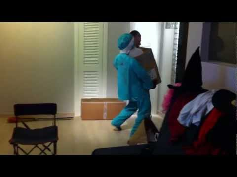 Original disfraz de Halloween - Awesome Halloween costume iphone 4 recorded