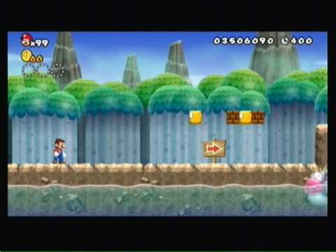 Lets play new super mario bros wii world 6 castle boss 6 5 - Passage secret mario bros wii ...