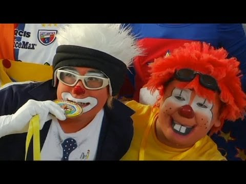 """Clown Olympics"" in Mexico City - no comment"