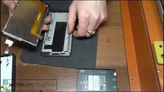 Lenovo P780 разборка и замена дисплейного модуля