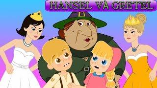 Hansel và Gretel - 12 Nàng Công chúa thích Khiêu vũ - Truyện cổ tích việt nam