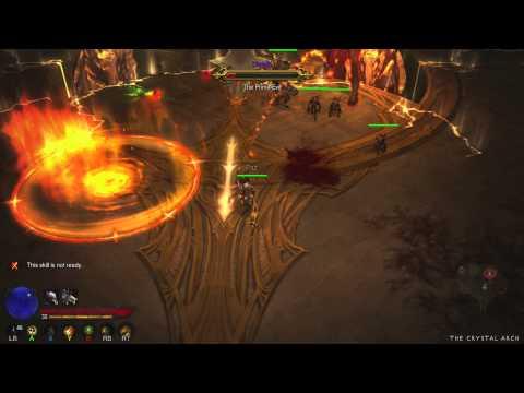 Diablo III - Defeating Diablo Solo (On Xbox 360)