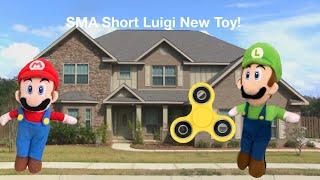 Luigis new toy