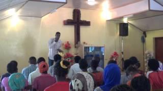 Joseph preaching (May 31, 2014)@EECMY Yabello