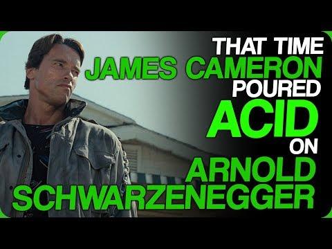 That Time James Cameron Poured Acid On Arnold Schwarzenegger (Marketing The Terminator)