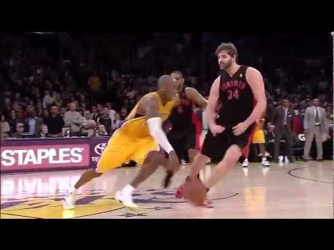 Kobe Bryant Game Winning dunk vs Raptors