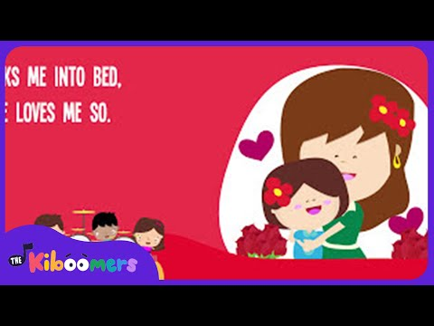 Mommy Takes Good Care Of Me Song for Children | Mother's Day Song Lyrics for Kids