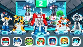 Transformers Rescue Bots: Disaster Dash Hero Run | Rescue Bots Special Missions! By Budge #4