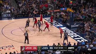 Enes Kanter All Game Actions 05/12/19 Portland Trail Blazers vs Denver Nuggets Game 7 Highlights