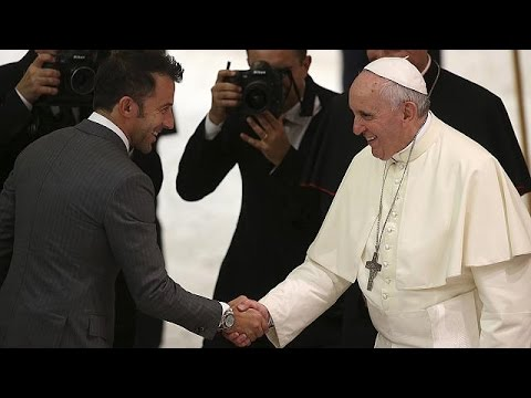 Football stars shine for Pope Francis and his Match for Peace