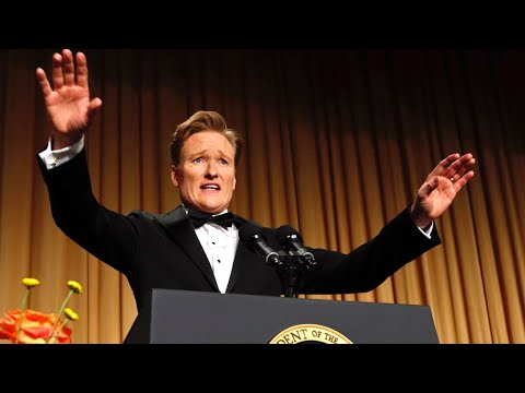 Conan O Brien at the 2013 White House Correspondents  Dinner - Complete