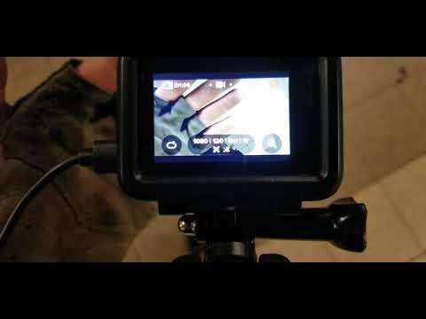 GoPro Hero7 Black Laggy Screen an Error Recording