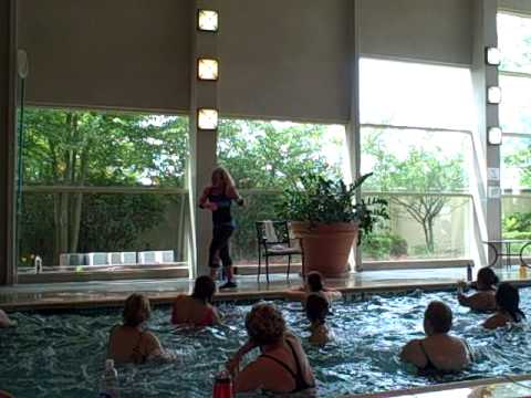 Shakira Waka Waka- One Goal- Aqua Zumba With Kelly Bullard video