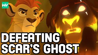 How Kion Defeated The Ghost Of Scar: Discovering Disney