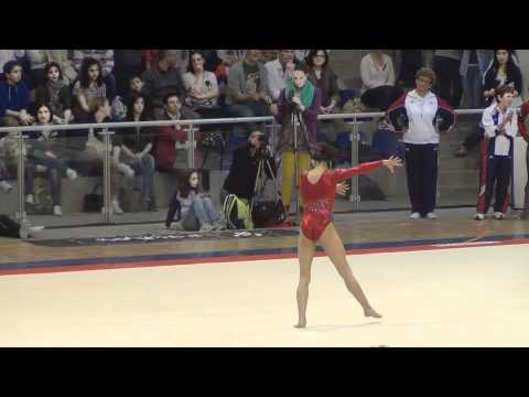 Kyla Ross (USA) Jesolo 2012 -  FX (AA Champion)