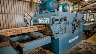 Wood-Mizer TITAN MULTIRIP at UCL Sawmill in South Africa