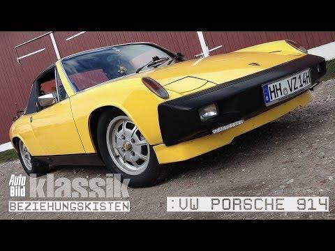 VW Porsche 914 - Kurzfilm - AUTO BILD Klassik / Beziehungskisten