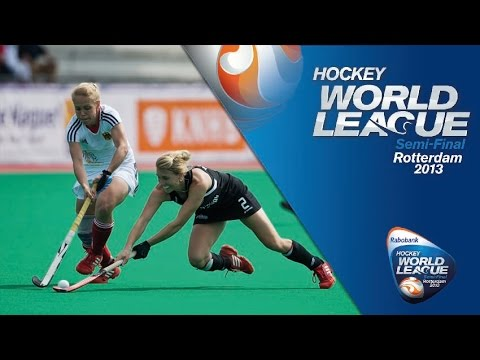 Germany vs New Zealand  Women's  Hockey World League Rotterdam  Pool B [14/06/13]