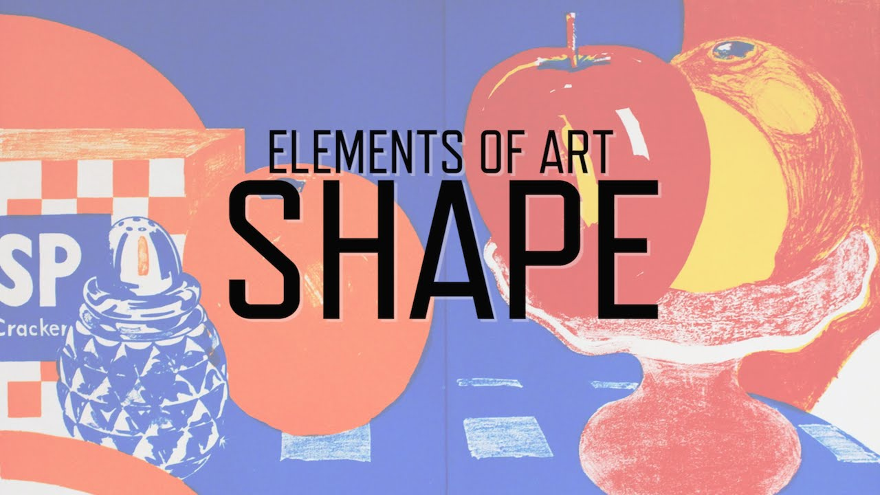 What Is Shape In Art : Elements of art shape kqed arts youtube
