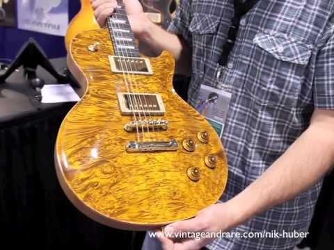 Nik Huber Interview / NAMM 2011 / Vintage&RareTV / Custom Guitars