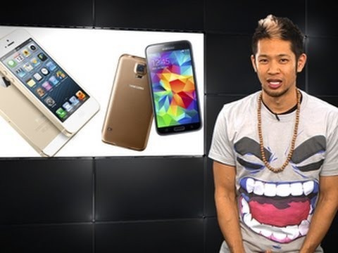 Apple Byte - Should Apple be worried about the Galaxy S5?