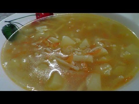ВКУСНО И ОЧЕНЬ ПРОСТО! Суп с вермишелью и сыром