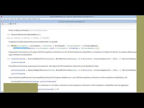 Cálculos en paralelo con Mathematica y conexión de ordenadores en malla (grid)