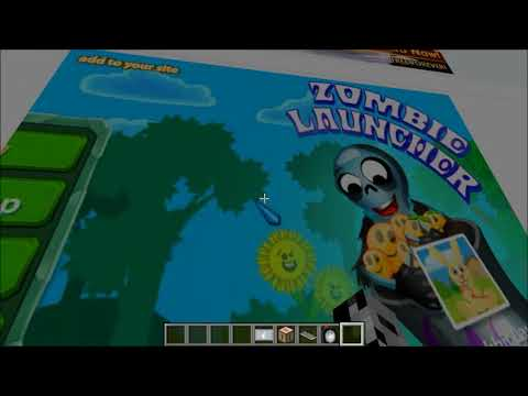 Minecraft : INTERNET IN MINECRAFT (Search the internet in game!) Web Displays Mod Showcase