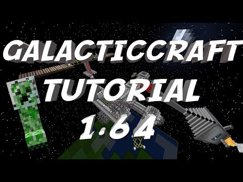 Minecraft 1.6.4-How To Install The Galacticraft Mod(Space Mod)+Small Review