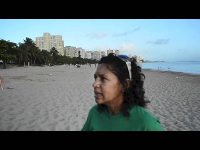 Amanecer en Ocean Park tras la Noche de San Juan 2012