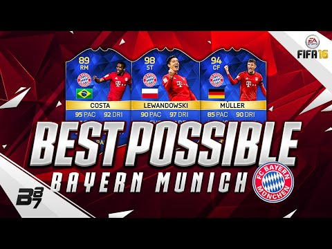 HIGHEST RATED BAYERN MUNICH TEAM! w/ TOTS LEWANDOWSKI AND TOTS DOUGLAS COSTA! | FIFA 16